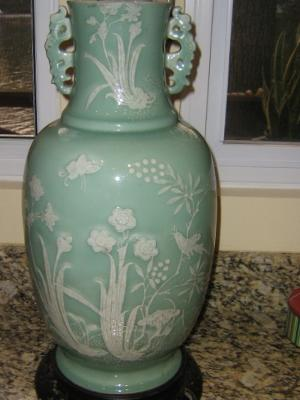 19th Century Celadon Vase