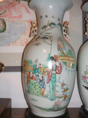 2 Old Chinese Vases