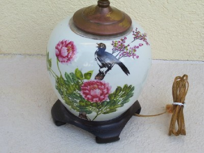 front view - birds/flowers