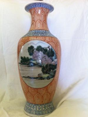 1st side of vase