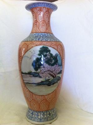 2nd side of vase