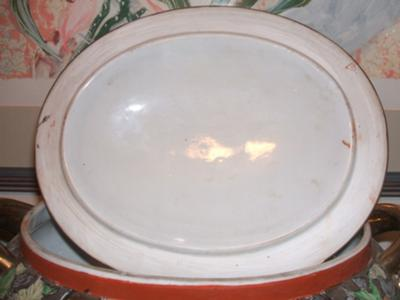lid: mark on top right hand side