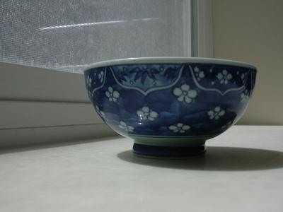 side of bowl