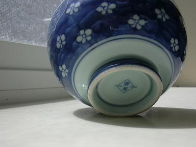 foot of bowl