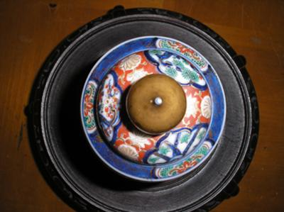 top view of lid