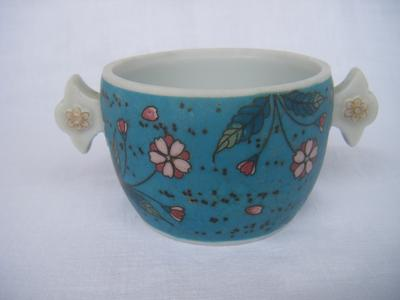 Two Cups China Cup With Two Handles