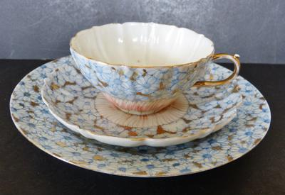 Eggshell Porcelain Fully Hand Painted Tea Set Unknown