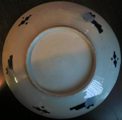 Help needed with 19th century Chinese Imari plate