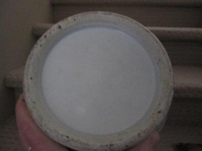 Asian vase base