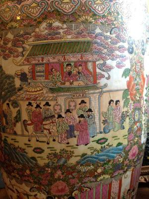 Large Chinese Vase Antique Or Vintage