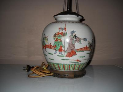 Late Qing Dynasty Ginger Jar