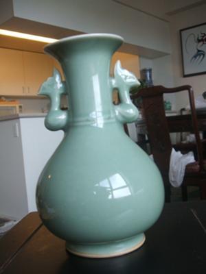 Longquan Celadon Glazed Vase Ming Dynasty Is It