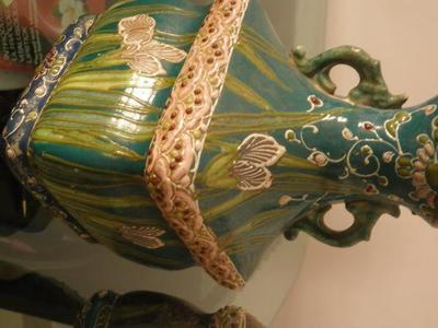 Pair Of Old Chinese Vases