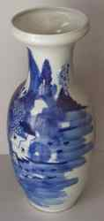 late Qing dynasty vase