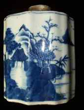 Tea caddy- Qing dynasty