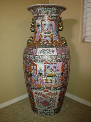 Large Chinese Vases Vase And Cellar Image Avorcor