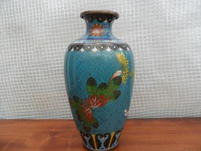 Chinese Metal Cloisonne Vase