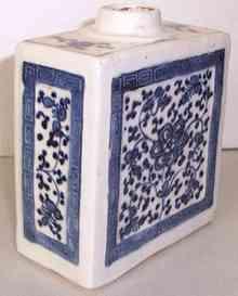 Qianlong era tea caddy