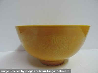The Yellow Bowl