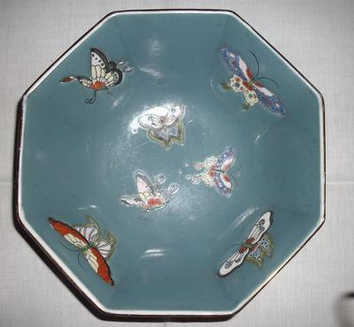 inside of bowl